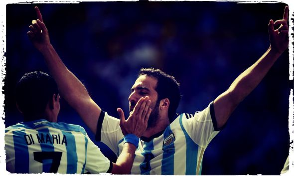 Gonzalo Higuain and others would finally step up to the plate in a much improved overall performance by Argentina