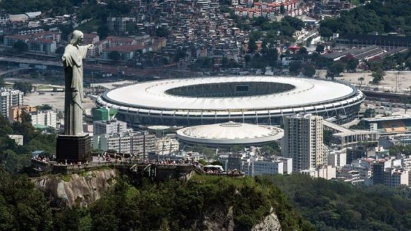 Always in the shadow of Christ the Redeemer - the Estadio do Maracana will bear witness to World cup history one way or another