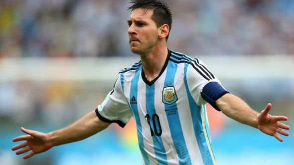 "There is no better player in the world than Lionel Messi - but can he ""pull a Neo"" and singlehandedly defeat the machine that is Germany?"
