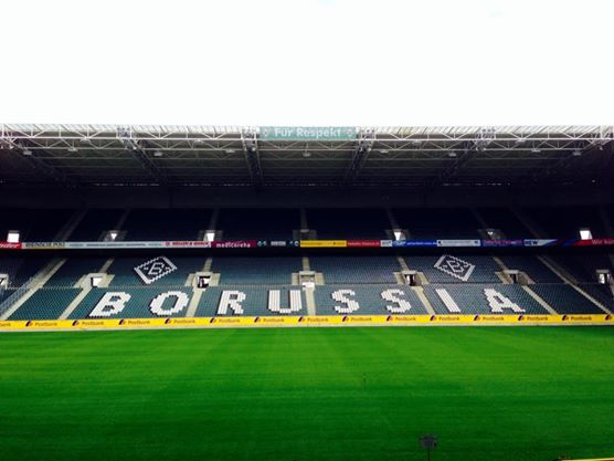 Borussia-Park; home ground to Borussia Monchengladbach, just one many clubs in German who's purpose goes far beyond club success.