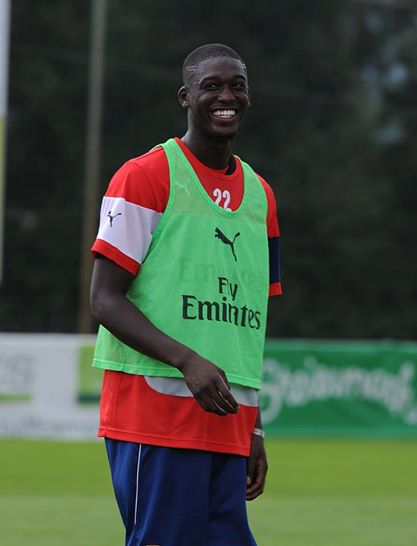 While Campbell may still be deemed not ready for first-team duty, Wenger feels, somehow, that Yaya Sanogo is