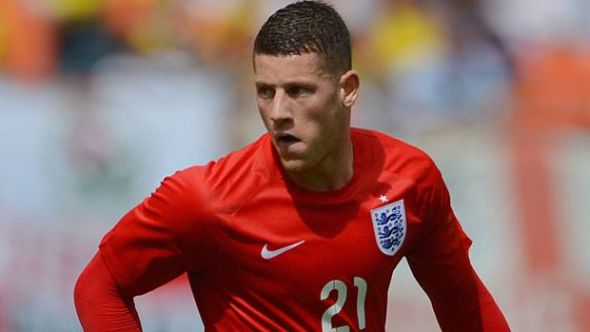 Ross Barkley will undoubtedly remain key for England in the years to come, but how will that potentially effect others? (image courtesy of England's official Facebook page)