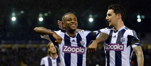 Saido Berahino could reap the benefits of West Brom's experienced side