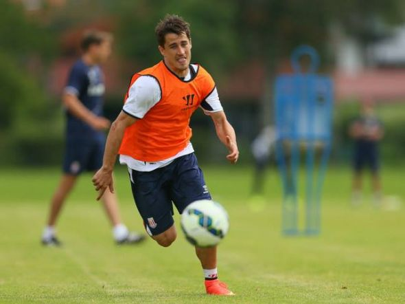 Bojan continues to impress this summer in a Stoke jersey after his shock transfer to the club.