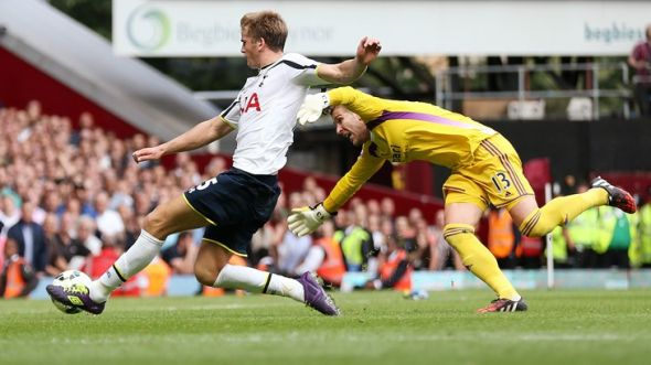 Eric Dier capped off an impressive debut with a clean sheet and an added-time winner.