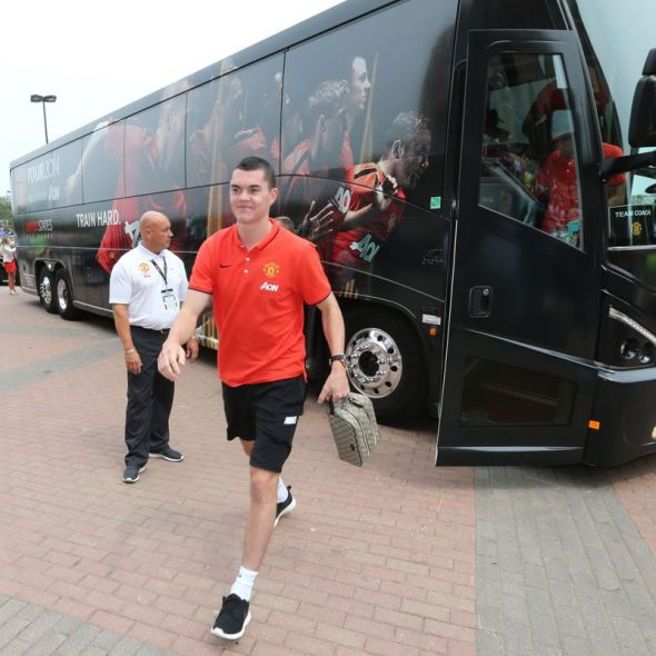 Manchester United youngster Michael Keane is set to start against Spanish giants Real Madrid today when the two clubs clash at Michigan stadium later this afternoon
