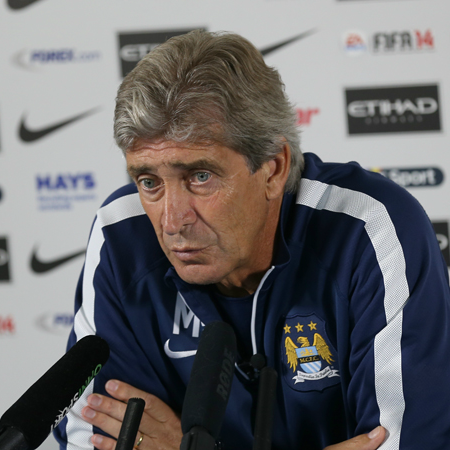 Manuel Pellegrini's City started their title defense with three points on the road