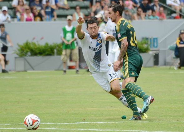 Defender Liam Ridgewell features for Portland Timbers following his move away from The Hawthorns.