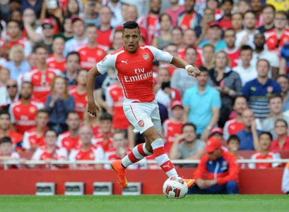 Alexis Sanchez also made his non-competitive debut for the club; he only featured for 15minutes, but he looks ready for the season