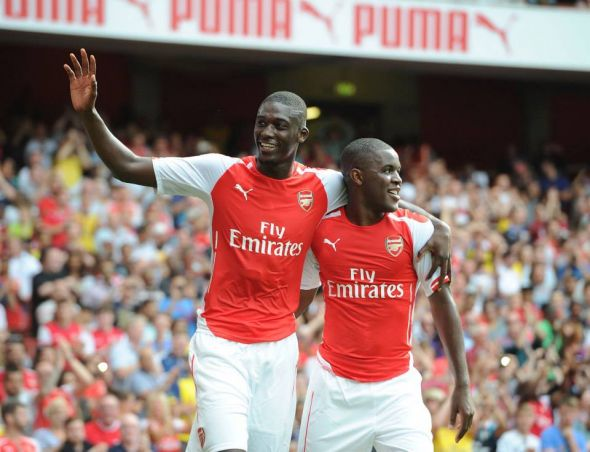 Sanogo and Campbell both put in fantastic displays at the Emirates - both are now assured to stay at the club this season.