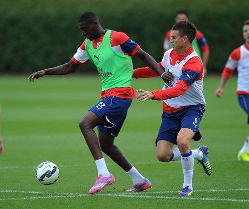 With all due respect, a half-fit Giroud is better than Sanogo