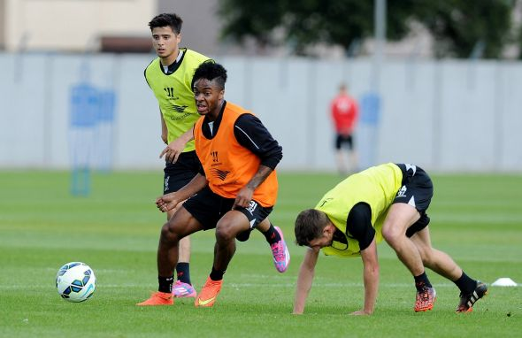 Raheem Sterling is just one of a host of talented midfielders on offer at Anfield this season
