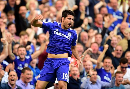 Deadly in Europe last season for Atletico Madrid, Diego Costa will lead the line for Chelsea this time around