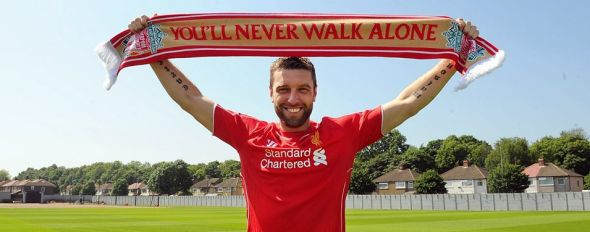 Rickie Lambert was the first player to leave this summer