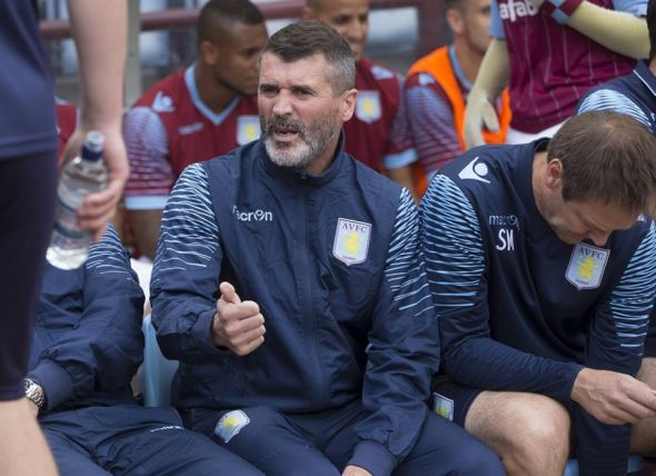 Roy Keane is a major addition to the coaching staff. A former player his caliber will command respect and discipline in the locker room and the pitch. - Taken by Neville Williams/Getty Images/ Aston Villa official Facebook page.