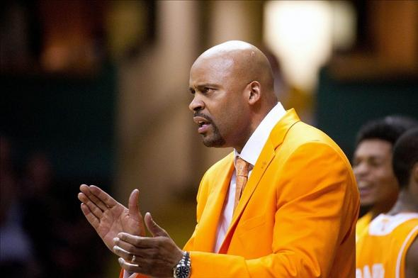 Tennessee Volunteers head coach Cuonzo Martin during the second half against the Vanderbilt Commodores at Memorial Gym. Vanderbilt won 64-60. im Brown-USA TODAY Sports