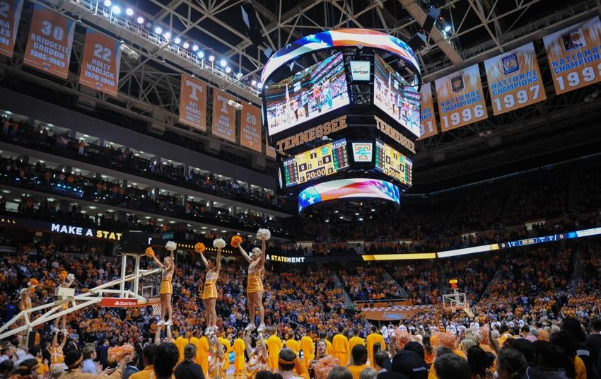Tennessee Basketball Arena Vols Basketball Tennessee