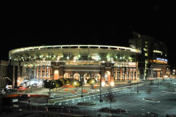 Nov 22, 2014; Knoxville, TN, USA; A general view of Neyland Stadium home of theTennessee Volunteers following the game against the Missouri Tigers. Missouri won 29-21. Mandatory Credit: Jim Brown-USA TODAY Sports