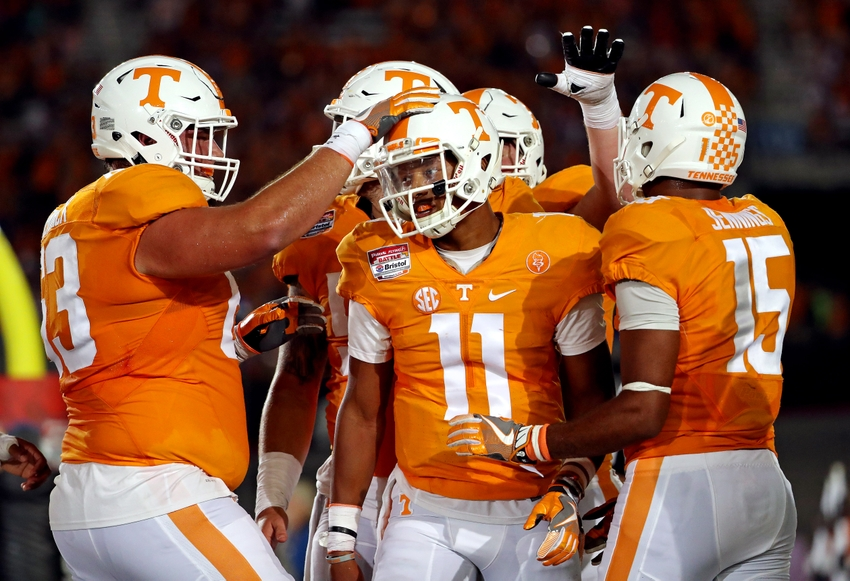 Battle At Bristol Report Card Grading The Vols In Their
