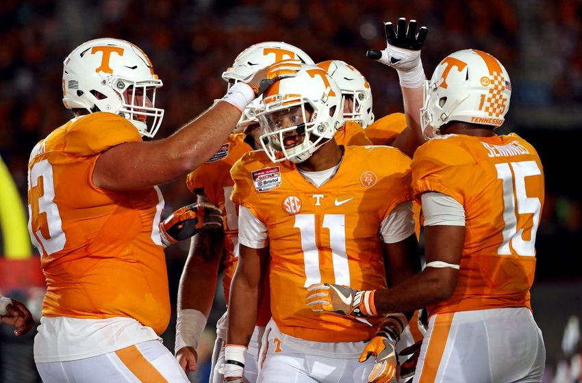 Tennessee Vs Virginia Tech Vols Dominate Hokies 45 24