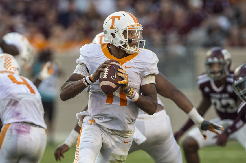 Vols knocked out of AP top 25 following third conference loss