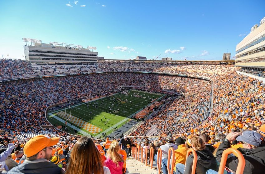 Nov 19, 2016; Knoxville, TN, USA;  General view before the game between the Missouri Tigers and Tennessee Volunteers at Neyland Stadium. Mandatory Credit: Randy Sartin-USA TODAY Sports