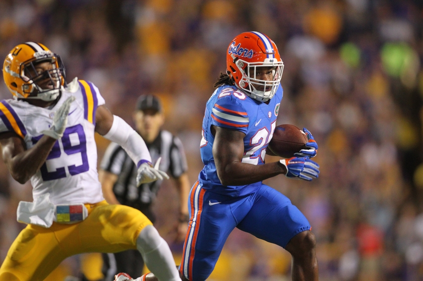 LSU, Florida players get in scuffle on sideline before game