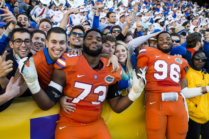 Florida's goal-line stand to beat LSU left its radio announcer exasperated