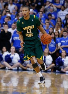 The Roos held Norfolk State's Pendarvis Williams to just half of his 14.3 ppg average on Sunday (Photo Credit: Jim O'Connor-US PRESSWIRE)
