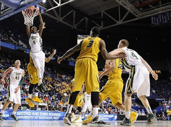 Colorado State Rams against Missouri Tigers during the 2013 NCAA tournament. (Jamie Rhodes, USA TODAY Sports)