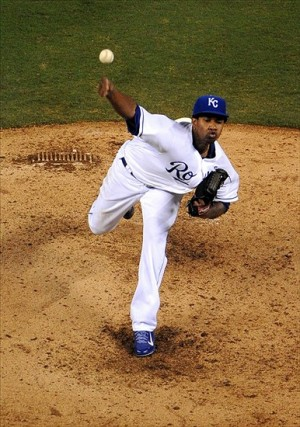 Ventura hurls fastball