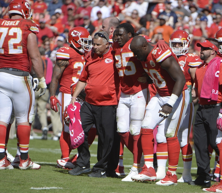 Jamaal Charles had second knee scope this week