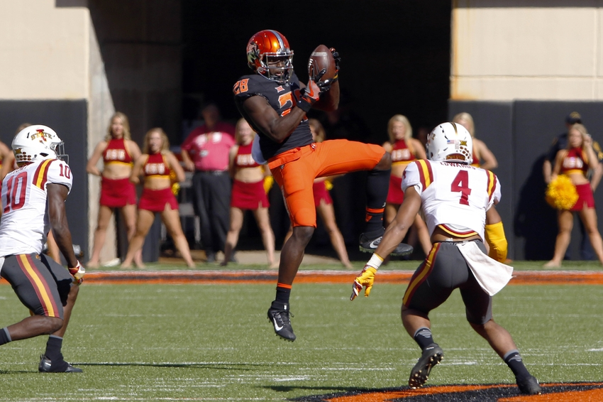 Oklahoma State heads to Kansas State with Big 12 title hopes