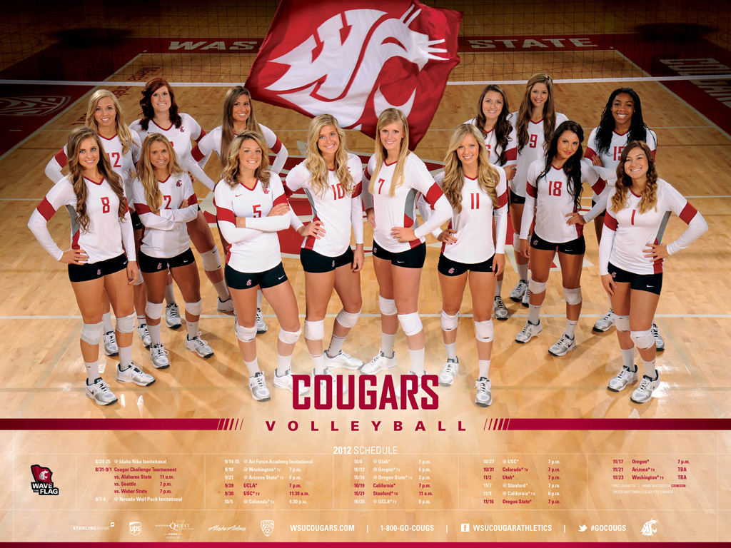 WSU Volleyball In the Wolf Pack Invitational