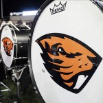 Oct 12, 2013; Pullman, WA, USA; Oregon State Beavers band sets up before a game against the Washington State Cougars at Martin Stadium. Mandatory Credit: James Snook-USA TODAY Sports