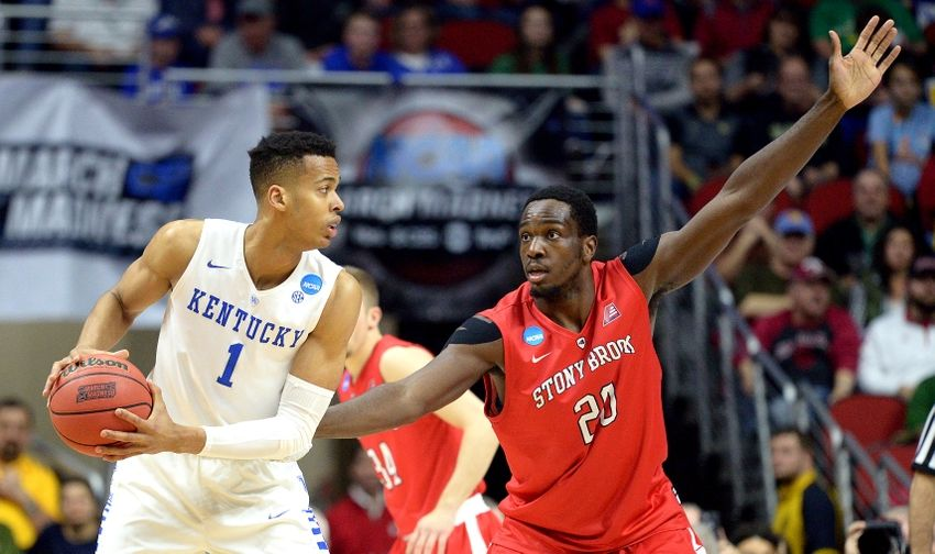Stony-brook-skal-labissiere-jameel-warney-ncaa-basketball-ncaa-tournament-first-round-kentucky-vs-stony-brook-850x504