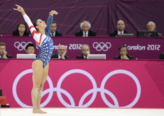 Aly Raisman Finishes 2012 London Olympics With Gold Medal
