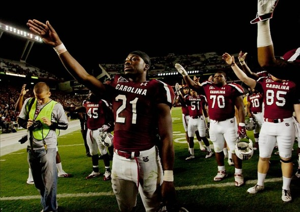 Marcus Lattimore To Attend South Carolina Gamecocks Game vs. Arkansas