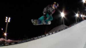 Elena Hight may have finished with silver in the 2013 Women's SuperPipe Final, but she pulled off a historic trick that had never been done before by anyone in X Games competition.