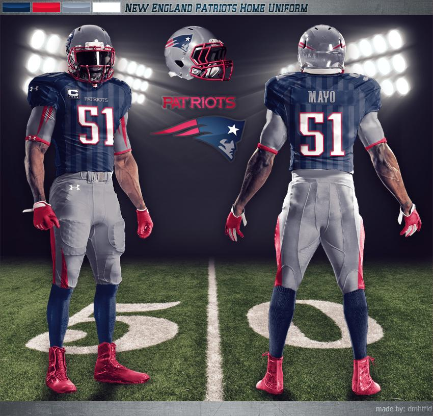 new england patriots have one of the better updated looks