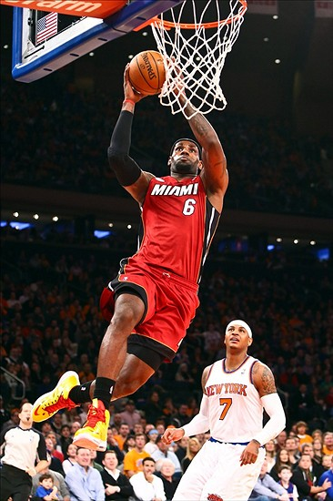 NBA on ABC: Miami Heat Surge Past New York Knicks 99-93