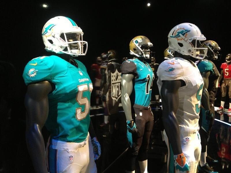 Miami Dolphins New Uniforms Unveiled (Photo)