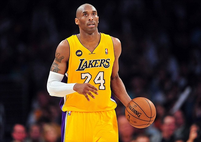 Kobe bryant adds to his tattoo collection photo for La lakers tattoo