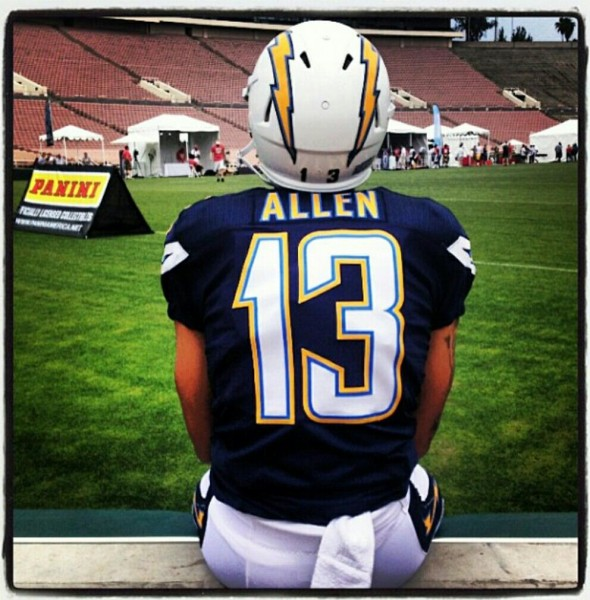 San Diego Chargers Away Jersey: San Diego Chargers Uniform Change For 2013?