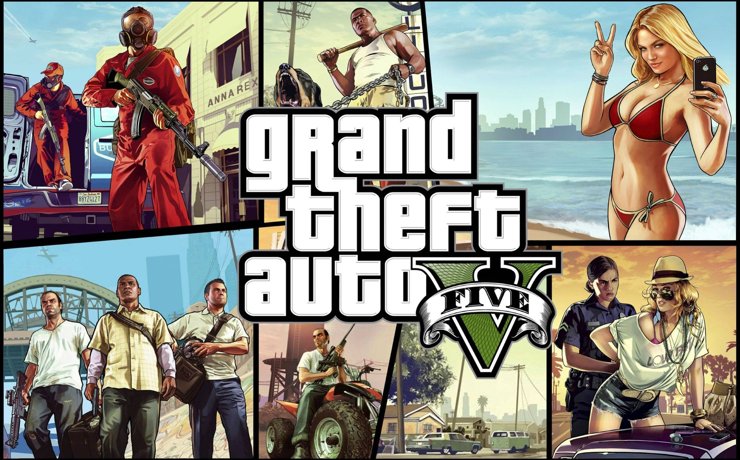 Complete List of Grand Theft Auto 5 In-Game Websites - Extra