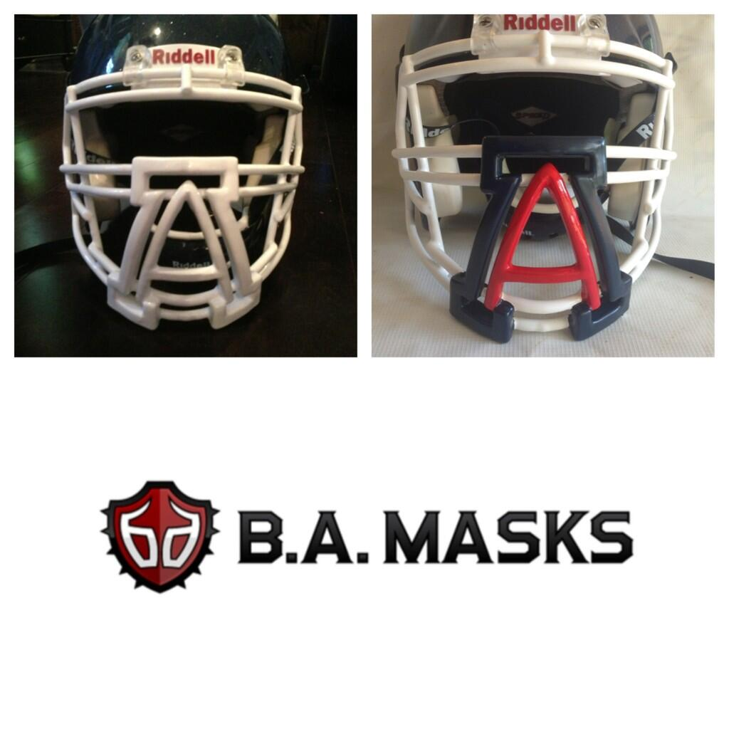 how to make a football facemask