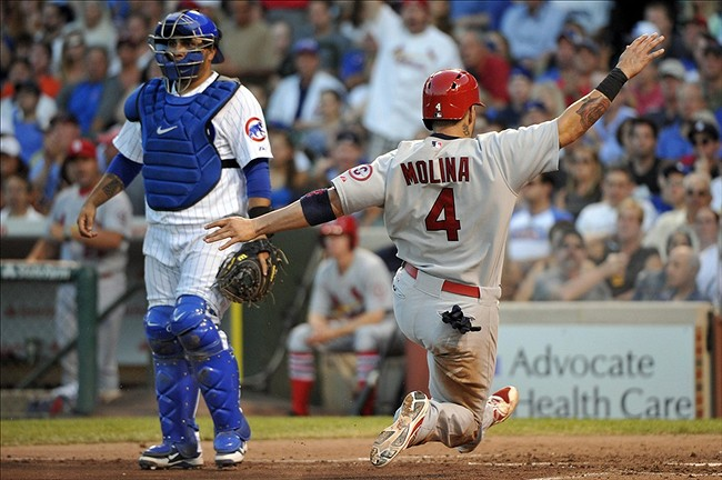 jul 14 2013 chicago il usa st louis cardinals catcher yadier molina 4