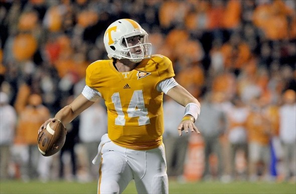 Tennessee Volunteers Name Justin Worley Starting Qb