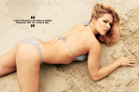Ronda rousey maxim shoot behind the scenes video