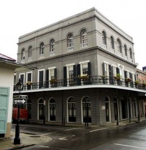 The LaLaurie residence in 1140 Royal Street, New Orleans, photographed in September 2009.